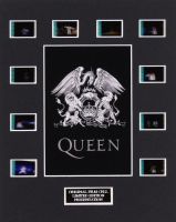 """Queen in Concert"" LE 8x10 Custom Matted Original Film / Movie Cell Display"