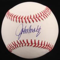 John Smoltz Signed OML Baseball (Radtke Hologram)