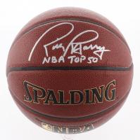 """Rick Barry Signed NBA Basketball Inscribed """"NBA Top 50"""" (Schwartz COA)"""