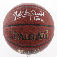 "Nate ""Tiny"" Archibald Signed NBA Basketball Inscribed ""HOF 91"" (Schwartz COA)"