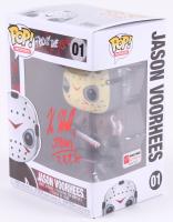 "Kane Hodder Signed Jason Voorhees #01 Funko Pop! Vinyl Figure Inscribed ""Jason 7, 8, 9, X"" (PA COA) at PristineAuction.com"