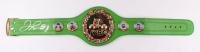 Floyd Mayweather Jr. Signed WBC Championship Belt (TriStar Hologram)