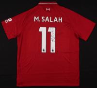 Mohamed Salah Signed Liverpool F.C. Jersey (Beckett COA)