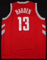 James Harden Signed Jersey (Beckett COA)