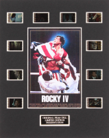 """Rocky IV"" LE 8x10 Custom Matted Original Film / Movie Cell Display"