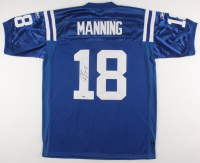 Peyton Manning Signed Indianapolis Colts Captain Jersey (PSA Hologram)