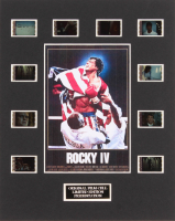 """""""Rocky IV"""" LE 8x10 Custom Matted Original Film / Movie Cell Display at PristineAuction.com"""