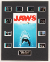 """Jaws"" LE 8x10 Custom Matted Original Film / Movie Cell Display"