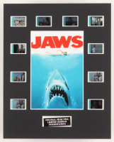 """""""Jaws"""" LE 8x10 Custom Matted Original Film / Movie Cell Display"""