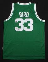 Larry Bird Signed Boston Celtics Jersey (Schwartz COA & Bird Hologram)
