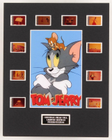 """""""Tom & Jerry"""" LE 8x10 Custom Matted Original Film / Movie Cell Display"""