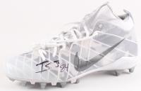 Irv Smith Jr. Signed Nike Football Cleat (Beckett COA)