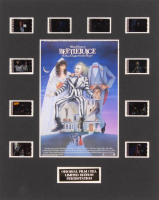 """Beetlejuice"" LE 8x10 Custom Matted Original Film / Movie Cell Display"