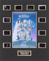 """""""Beetlejuice"""" LE 8x10 Custom Matted Original Film / Movie Cell Display at PristineAuction.com"""