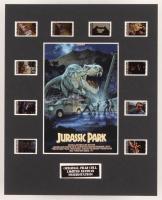 """Jurassic Park"" LE 8x10 Custom Matted Original Film / Movie Cell Display"