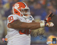 Dexter Lawrence Signed Clemson Tigers 8x10 Photo (Sports Collectibles COA)