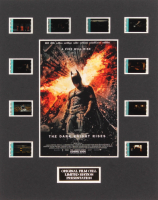 """The Dark Knight Rises"" LE 8x10 Custom Matted Original Film / Movie Cell Display"