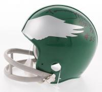 "Pete Pihos & Tommy McDonald Signed Philadelphia Eagles Throwback Mini-Helmet Inscribed ""HOF 70"" & ""HOF '98"" (PSA COA)"