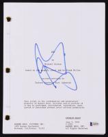 "Gerard Butler Signed ""300"" Movie Script (Beckett COA)"