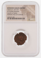 Certified Roman Coin of Emperor Tetricus II AD 274 BI Double-Denarius - Issued as Caesar (NGC Encapsulated)