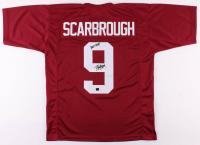 """Bo Scarbrough Signed Alabama Crimson Tide Jersey Inscribed """"Roll Tide"""" (Scarbrough Hologram)"""