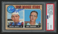 Johnny Bench Signed 1968 Topps #247 Rookie Stars RC with (2) Inscriptions (PSA Encapsulated)