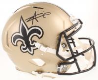 Alvin Kamara Signed New Orleans Saints Full-Size Authentic On-Field Speed Helmet (Radtke COA)
