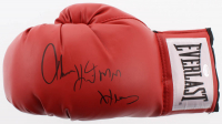 "Thomas ""Hitman"" Hearns Signed Everlast Boxing Glove (Schwartz COA)"