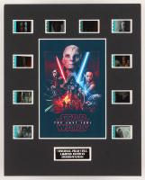 """Star Wars: The Last Jedi"" LE 8x10 Custom Matted Original Film / Movie Cell Display"