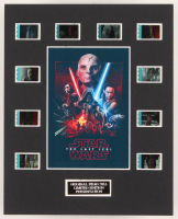 """Star Wars: The Last Jedi"" LE 8x10 Custom Matted Original Film / Movie Cell Display"