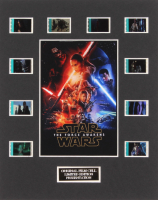 """Star Wars: Episode VII – The Force Awakens"" LE 8x10 Custom Matted Original Film / Movie Cell Display"