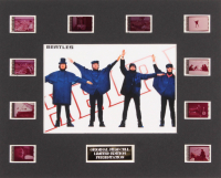 """The Beatles: Help!"" LE 8x10 Custom Matted Original Film / Movie Cell Display"