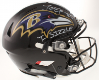 "Terrell Suggs Signed Baltimore Ravens Full-Size Authentic On-Field Flex Speed Helmet Inscribed ""T-Sizzle"" (Radtke COA) at PristineAuction.com"