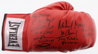 "Heavyweight Champions Everlast Boxing Glove Signed by (7) with James ""Buster"" Douglas, Ray Mercer, Tony Tubbs, Michael Moorer (Schwartz COA)"