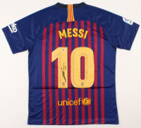 "Lionel Messi Signed Barcelona Jersey Inscribed ""Leo"" (Beckett COA)"