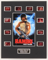 """""""Rambo: First Blood"""" LE 8x10 Custom Matted Original Film / Movie Cell Display"""