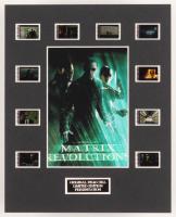 """The Matrix Revolutions"" LE 8x10 Custom Matted Original Film / Movie Cell Display"