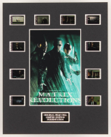 """The Matrix Revolutions"" LE 8x10 Custom Matted Original Film / Movie Cell Display at PristineAuction.com"