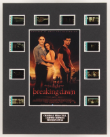 """The Twilight Saga: Breaking Dawn Part 1"" LE 8x10 Custom Matted Original Film / Movie Cell Display"