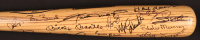500 Home Run Club Rawlings Baseball Bat Signed by (22) with Ted Williams, Mickey Mantle, Eddie Mathews, Harmon Killebrew with Inscriptions (Beckett LOA - Autograph Grade 9) at PristineAuction.com