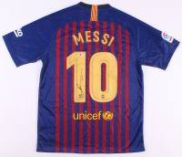 "Lionel Messi Signed Barcelona Nike Jersey Inscribed ""Leo"" (Beckett COA)"