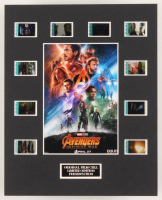 """The Avengers: Infinity War"" LE 8x10 Custom Matted Original Film / Movie Cell Display"