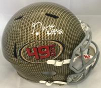 George Kittle Signed San Francisco 49ers Full-Size Hydro Dipped Speed Helmet (Beckett COA)