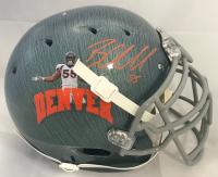 Bradley Chubb Signed Denver Broncos Full-Size Speed Authentic On-Field Helmet (Beckett COA)