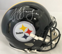 JuJu Smith-Schuster Signed Pittsburgh Steelers Full-Size Authentic On-Field Speed Helmet (Beckett COA)