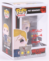 "Miko Hughes Signed ""Pet Sematary"" Gage & Church #729 Funko Pop! Vinyl Figure Inscribed ""Gage"" (PA COA) at PristineAuction.com"