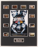 """2 Fast 2 Furious"" LE 8x10 Custom Matted Original Film / Movie Cell Display"