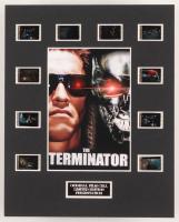 """The Terminator"" LE 8x10 Custom Matted Original Film / Movie Cell Display"