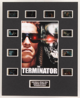 """The Terminator"" LE 8x10 Custom Matted Original Film / Movie Cell Display"