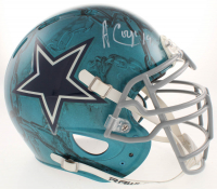 Amari Cooper Signed Dallas Cowboys Full-Size Authentic On-Field Hydro Dipped Speed Helmet (Beckett COA)